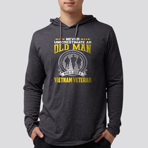 Never underestimate OLD MAN is Long Sleeve T-Shirt